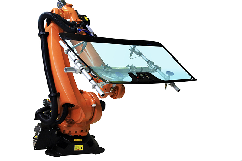 windshield installation robot - mobile windshield repair